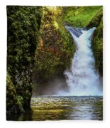 Punch Bowl Falls, Oregon Fleece Blanket