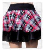 Punk Style Mini Skirt - Ameynra Fashion Fleece Blanket