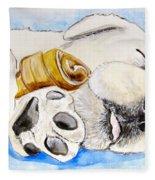 Puppy Dreams Fleece Blanket