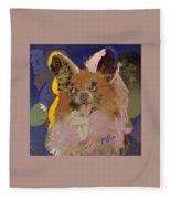 Puppy Fleece Blanket