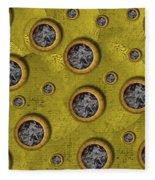 Pure Abstract Popart Fleece Blanket