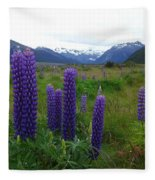 Pure And Simple Nature Of New Zealand Fleece Blanket