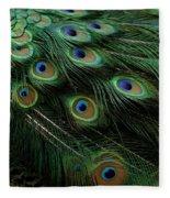 Pure Peacock Fleece Blanket