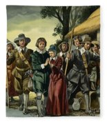 Puritans Fleece Blanket