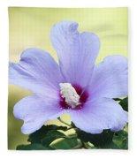 Purple Althea Fleece Blanket