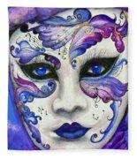 Purple Carnival Fleece Blanket