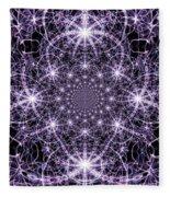 Purple Celeste  Fleece Blanket