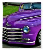 Purple Cruise Fleece Blanket