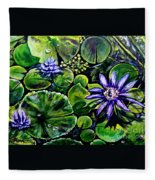 Purple Dawn Fleece Blanket