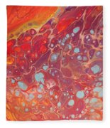 Purple Fire - 11 X 14 Canvas,$250 Fleece Blanket