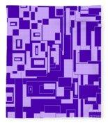 Purple Hues Fleece Blanket