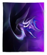 Purple Love Fleece Blanket