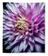 Purple Mum Fleece Blanket