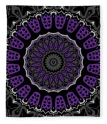 Purple Passion No. 1 Fleece Blanket