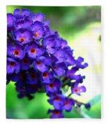 Purple Peace Fleece Blanket
