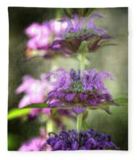 Purple Promises Fleece Blanket