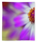 Purple Spring 12 Fleece Blanket
