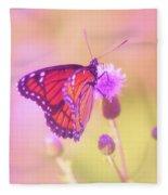 Purple Touch Fleece Blanket