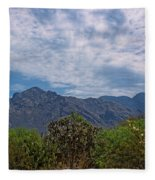 Pusch Ridge Morning H26 Fleece Blanket