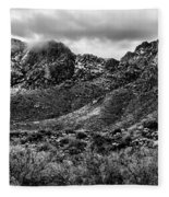 Pusch Ridge Snow No10 Fleece Blanket