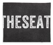 Put The Seat Down Fleece Blanket