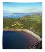 Pwll Du Bay Swansea Fleece Blanket