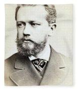 Pyotr Ilyich Tchaikovsky, Russian Fleece Blanket