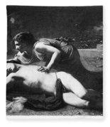 Pyramus And Thisbe Fleece Blanket