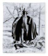 Quaker Pilgrim Fleece Blanket