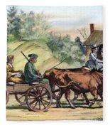 Quakers, 1776 Fleece Blanket