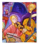 Quartet For The End Of Time Fleece Blanket