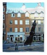 Quebec City 48 Fleece Blanket