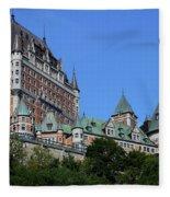 Quebec City 59 Fleece Blanket