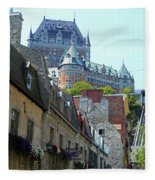 Quebec City 61 Fleece Blanket