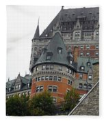 Quebec City 66 Fleece Blanket