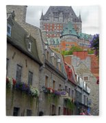 Quebec City 67 Fleece Blanket
