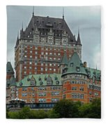 Quebec City 70 Fleece Blanket