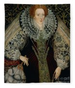 Queen Elizabeth I Fleece Blanket