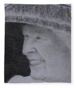 Queen Elizabeth II Fleece Blanket