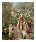 Queen Guinevere Fleece Blanket
