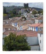 Queen Isabella's Castle Portugal Fleece Blanket