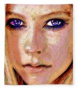 Queen Lavigne Fleece Blanket