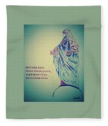 Queen Mary Fleece Blanket
