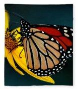 Queen Monarch 2 Fleece Blanket