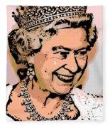 Queen Of Diamonds Fleece Blanket