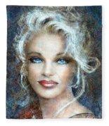 Queen Of Glamour Bright Fleece Blanket
