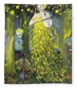 Queen Of Quinces Fleece Blanket