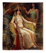 Queen Of Sheba Fleece Blanket