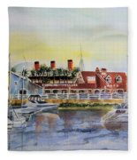 Queen Of The Shore Fleece Blanket