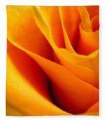 Queen Rose Fleece Blanket